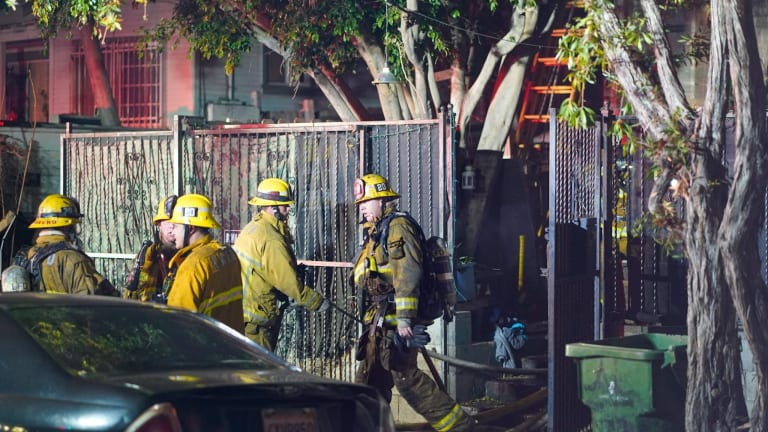 Echo Park House Fire, Loss of Property and Pets