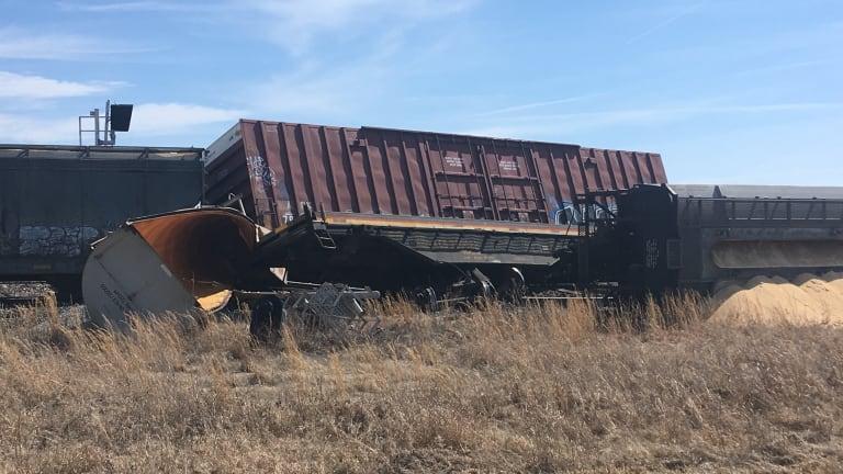 Neosho Train Derailment, KCS Line AA and 59 Highway