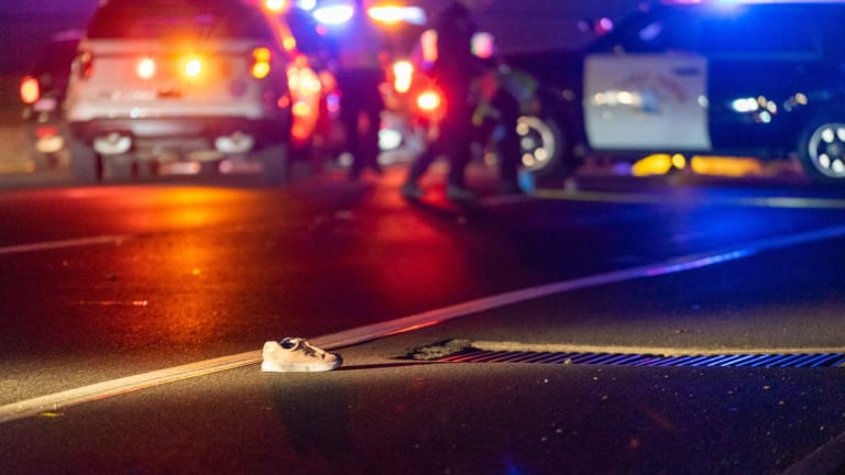 Female Struck by SUV After Jumping from Rear Seat of Uber Vehicle onto Freeway