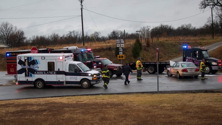 Two-Vehicle Accident Sends Two to Hospital on Thanksgiving Day Near Neosho MO
