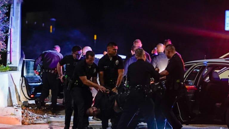 Vehicle Pursuit Ends in Crash on 101 Freeway Ramp in Sherman Oaks