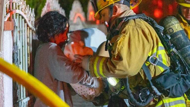 Two Transported to Hospital After Pacoima Home Erupts in Flames