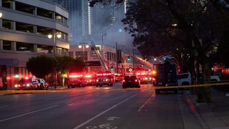 Downtown Structure Fire Explosion Injures 11 Firefighters