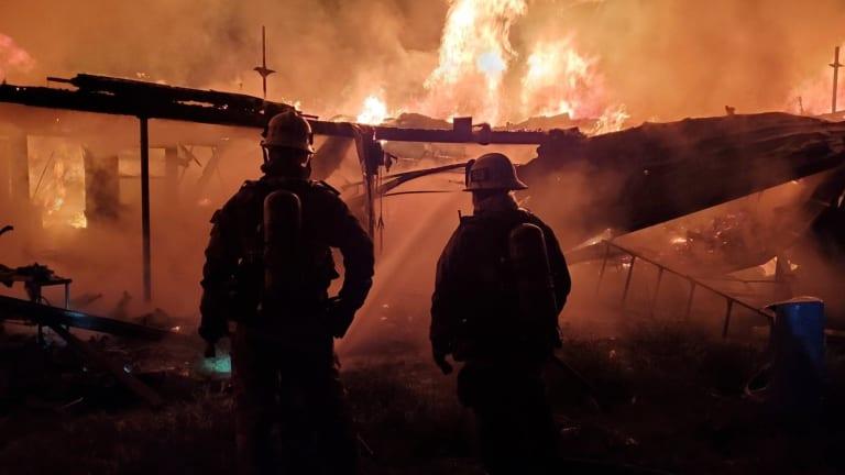 Studio City House Fire