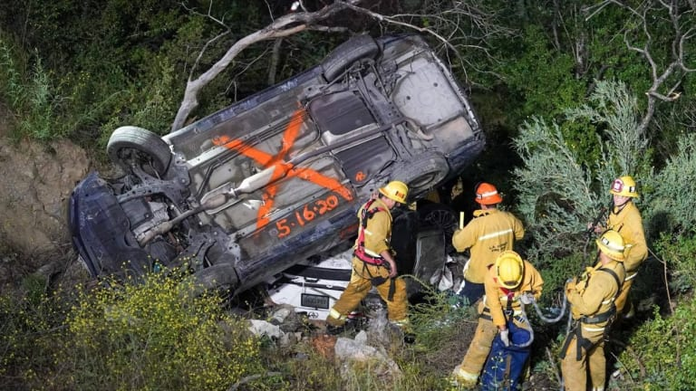 Driver Rescued from Crash Site Found in Ravine off Little Tujunga Canyon Road