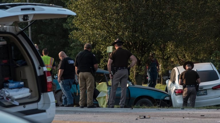 One Man Killed in 3-Car Collision