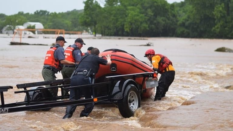 Launching Search and Rescue Boats