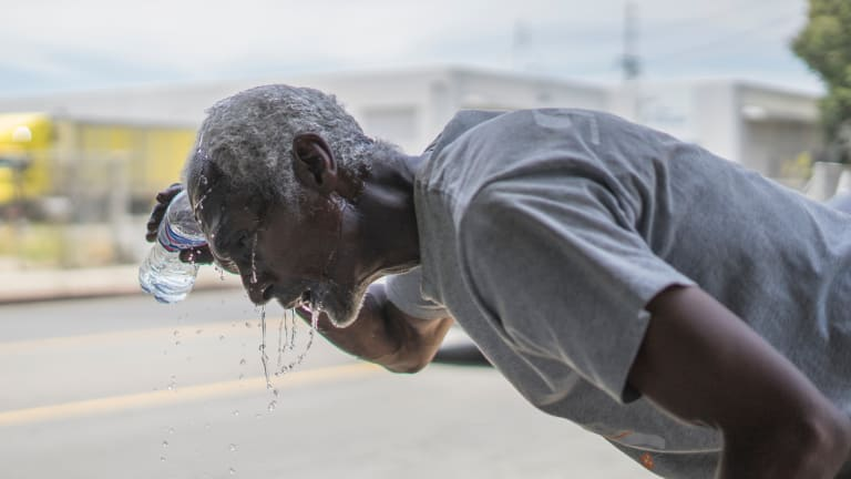Good Samaritan Thinks of Homeless First During Heat Wave