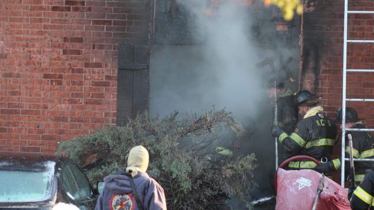 Apartment Fire in Kansas City