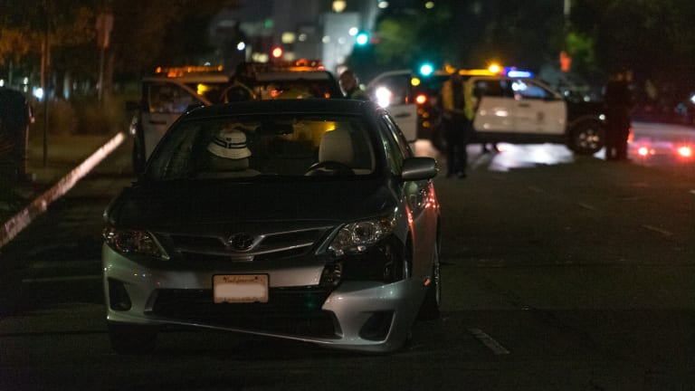 Pedestrian Critical After Struck by Vehicle on Woodman Avenue