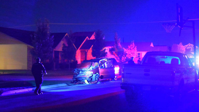 Stolen Cab Crashes in Joplin