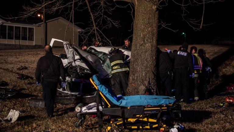 Medflight Lands in Neosho for a Single Car Accident