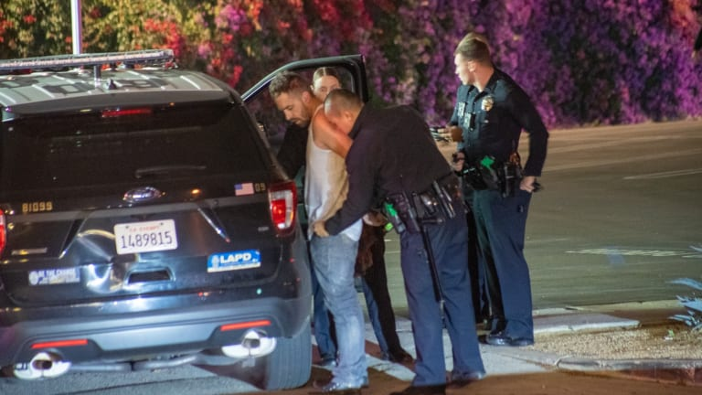 Assault with a Deadly Weapon Suspect in Custody After Pursuit