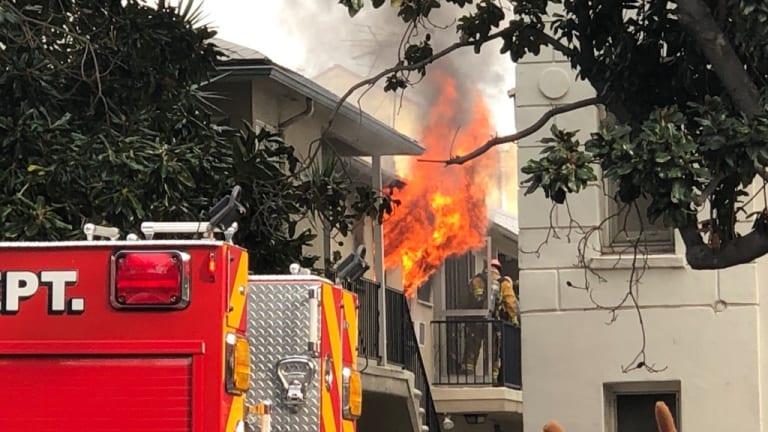 Pets Perish in Los Feliz Garden-Style Apartment Fire