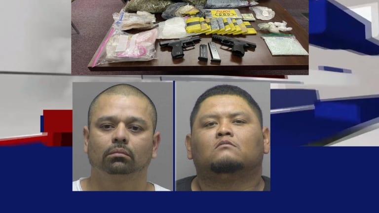 COCAINE, MARIJUANA, CASH SEIZED IN LARGE DRUG BUST