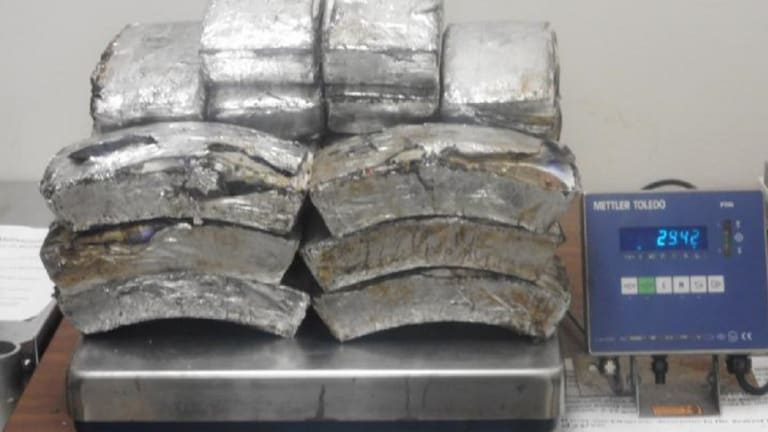 WOMAN CAUGHT WITH $1.2 MILLION IN METH