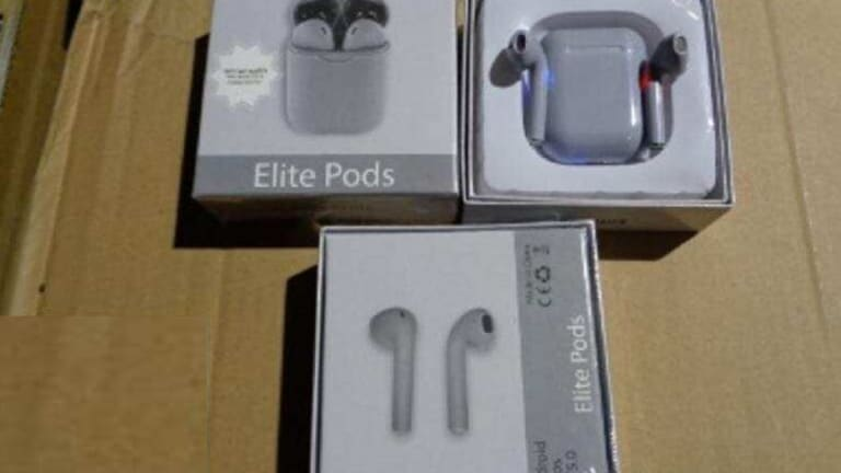 36,000 FAKE APPLE AIRPODS WORTH $7.16 MILLION GETS SEIZED