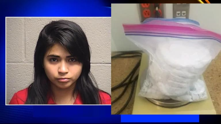 WOMAN HAD 2 KILOGRAMS OF FENTANYL WHILE HER CHILD WAS IN CAR, COPS SAY