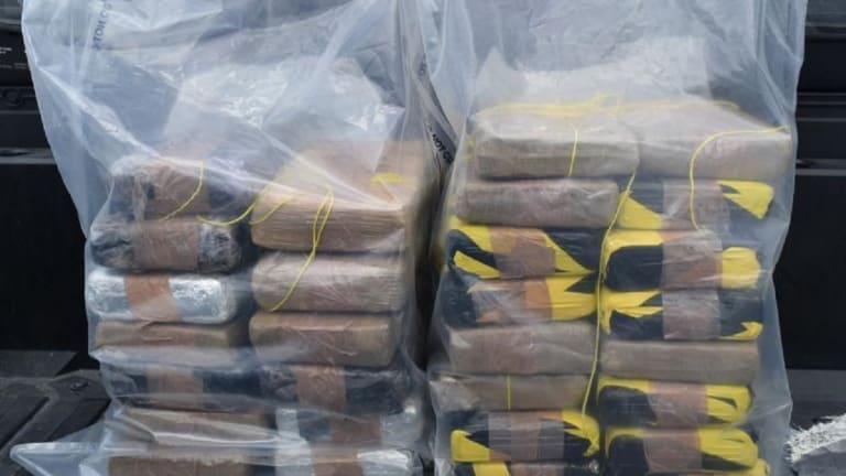 $809,000 WORTH OF COCAINE FOUND DURING DRUG BUST