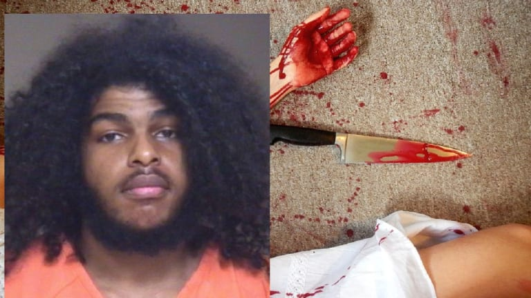 BLACK MAN MURDERS HIS FATHER IN STABBING FIGHT WITH LARGE KNIFE