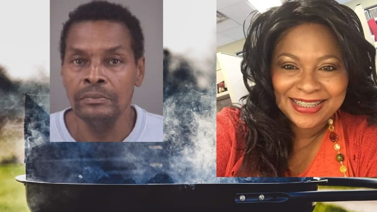 MAN MURDERS HIS GIRL FRIEND AT COOKOUT