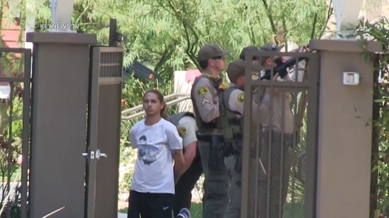1 Person Detained After Containment Zone at a Newhall Apartment Complex