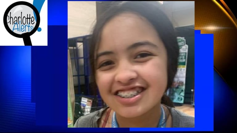 11-YEAR-OLD GIRL MISSING NEAR CHARLOTTE