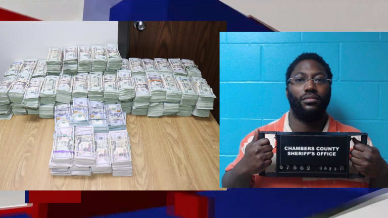 NEARLY $1 MILLION SEIZED FROM MAN DURING TRAFFIC STOP