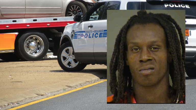 SUSPECT LEADS COPS ON HIGH SPEED CHASE AND THEN WRECKS