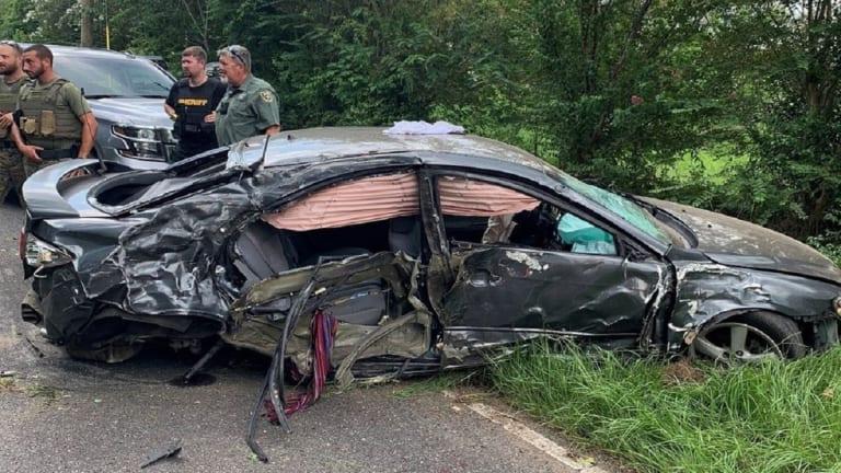 9-YEAR-OLD GIRL DIES IN CAR CRASH, VEHICLE HIT BRIDGE