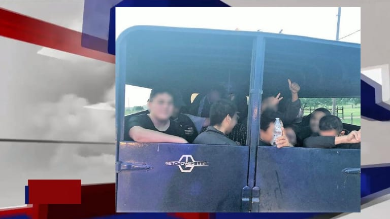 ILLEGAL IMMIGRANTS FOUND ON LIVESTOCK TRAILER DURING HUMAN SMUGGLING ATTEMPT