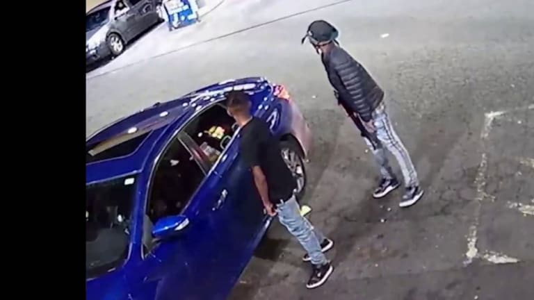 VIDEO OF VIOLENT AK-47 WEST CHARLOTTE GAS STATION SHOOTING