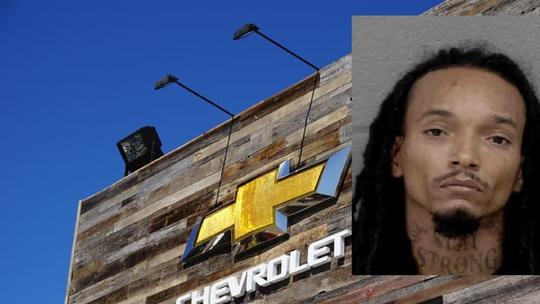 VICTORY CHEVROLET DEALERSHIP HAS PARTS STOLEN FROM TRUCKS