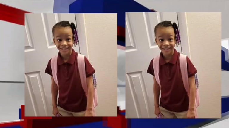 8-YEAR-OLD GIRL MISSING AFTER WAITING FOR BUS