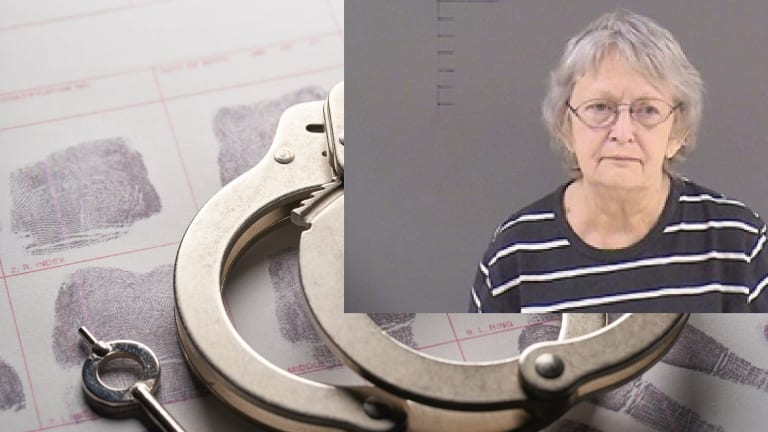 OLD WHITE WOMAN CHARGED WITH MURDERING HER HUSBAND