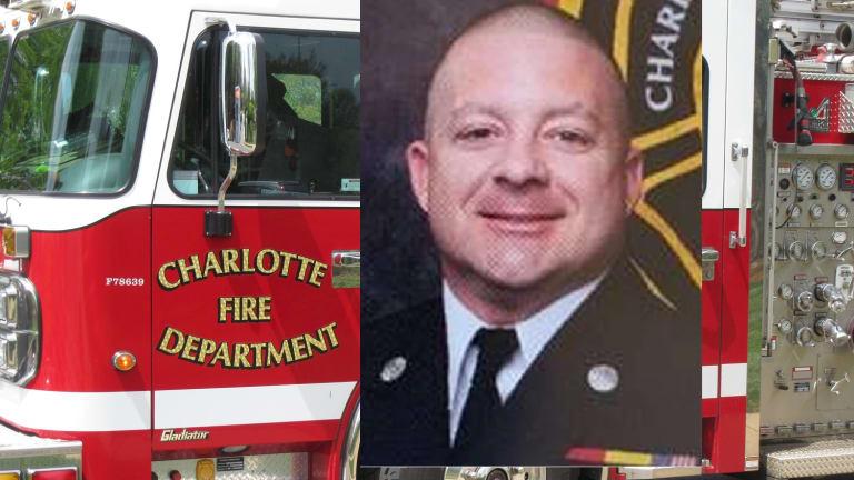 CHARLOTTE FIRE FIGHTER DIES FROM THE CORONAVIRUS