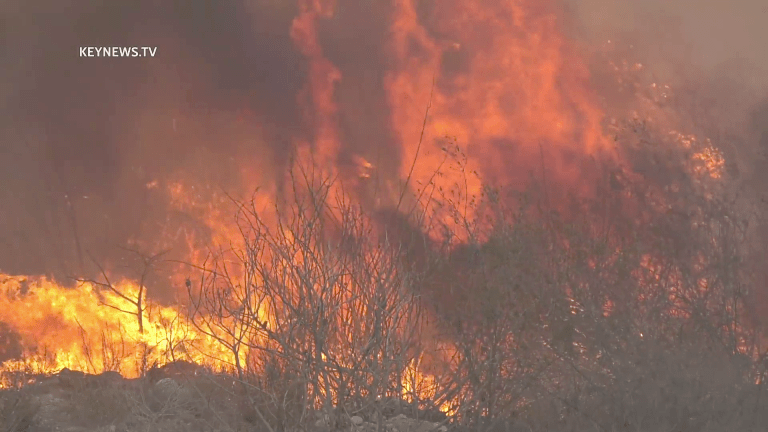 Firefighters Gain Control of 4-Acre Irwindale Brush Fire