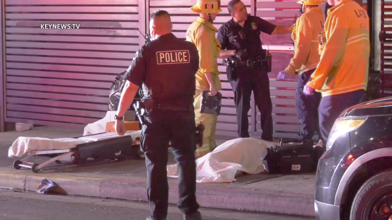 1 Dead, 1 Wounded in East Hollywood Hotel Shooting