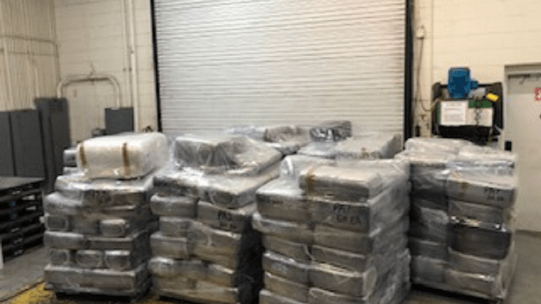 $1 MILLION WORTH OF MARIJUANA SEIZED IN DRUG BUST ON COMMERCIAL TRUCK