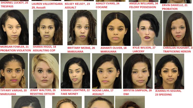 WOMEN IN JAIL, JAIL HOUSE CUTIES??