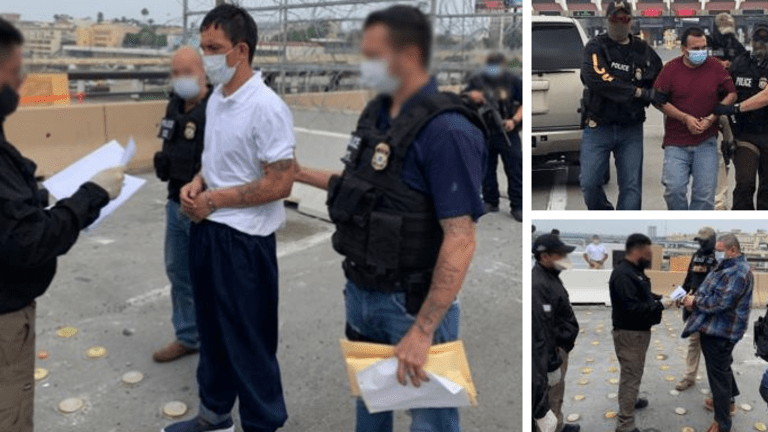 ICE REMOVES 3 MEXICAN FUGITIVES WANTED FOR HOMICIDE