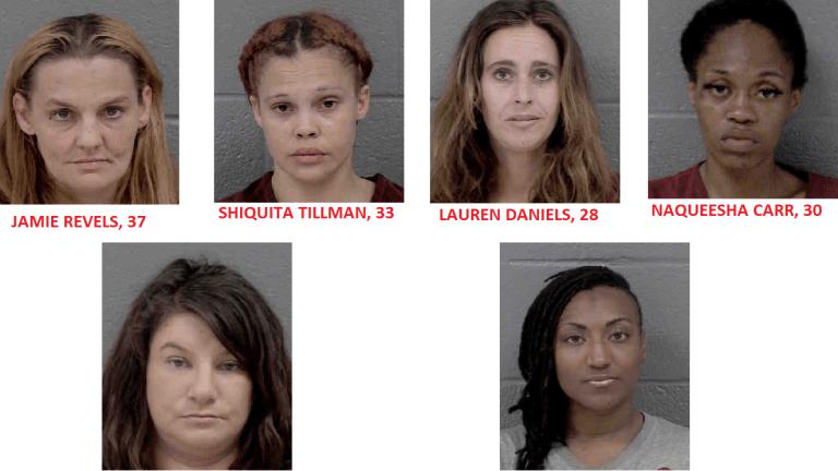PROSTITUTION STING NETS SEVERAL WOMEN UNDER ARREST