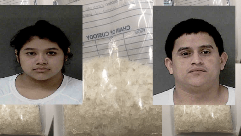 FEDS BUST TWO IN CRYSTAL METH INVESTIGATION