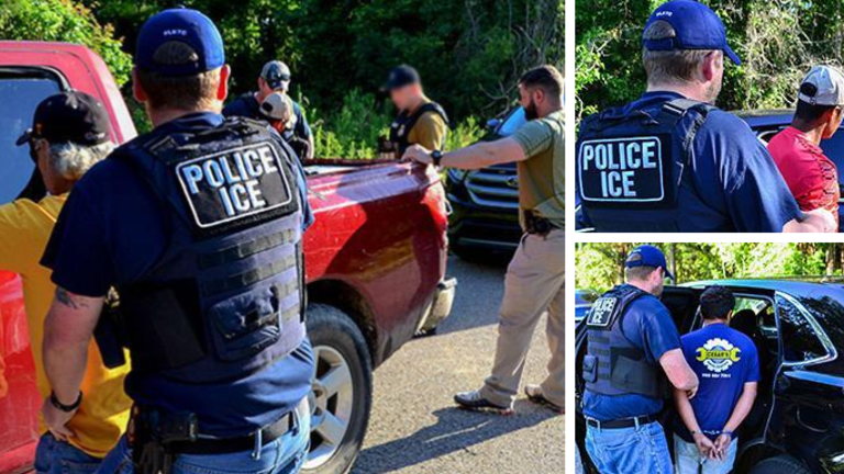ICE ARRESTS OVER 33 IMMIGRANTS IN WEEK LONG IMMIGRATION OPERATION