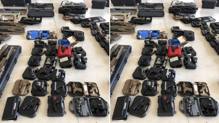 JET LOADED WITH WEAPONS AND CASH GETS INTERCEPTED