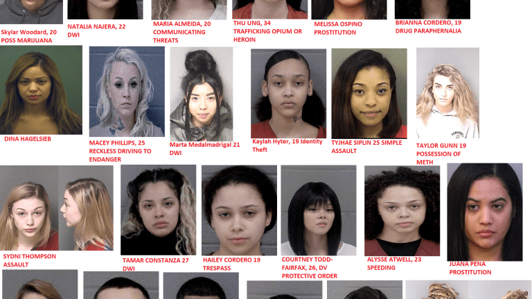 PRETTY FACE WITH A MUGSHOT, A LIST OF CUTE PEOPLE THAT GOT ARRESTED