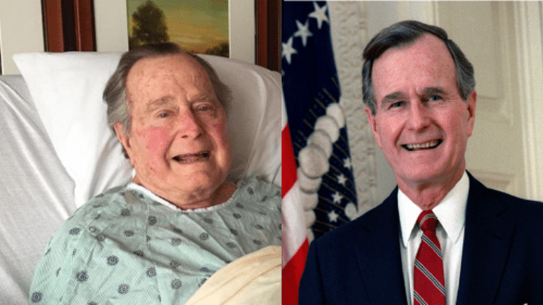 PRESIDENT GEORGE BUSH DIES FROM BLOOD INFECTION
