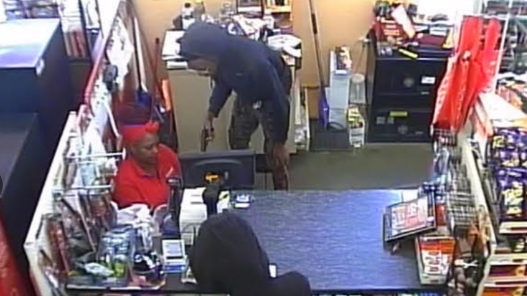 FAMILY DOLLAR STORE ROBBED AT GUN POINT