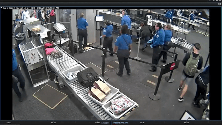 VIDEO: TSA OFFICERS AT AIRPORT KNOCKED TO GROUND BY MAN DURING BREACH