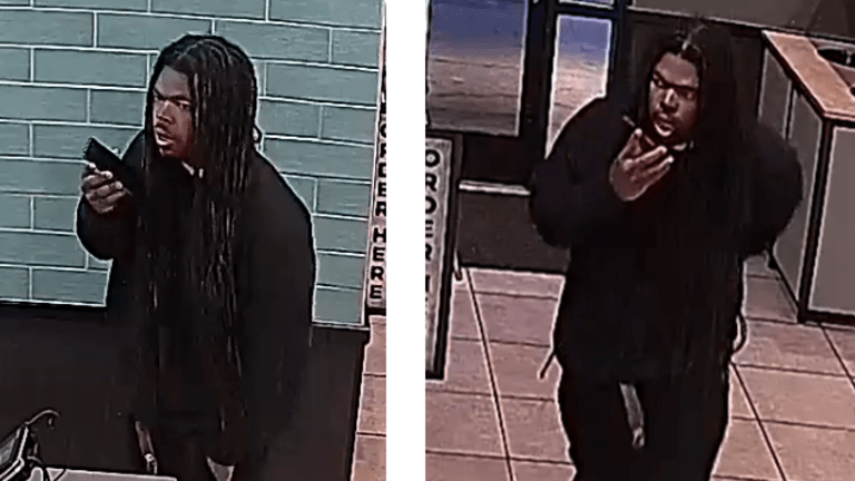 THIEF WITH GOLD TEETH ROBS TACO BELL LATE AT NIGHT